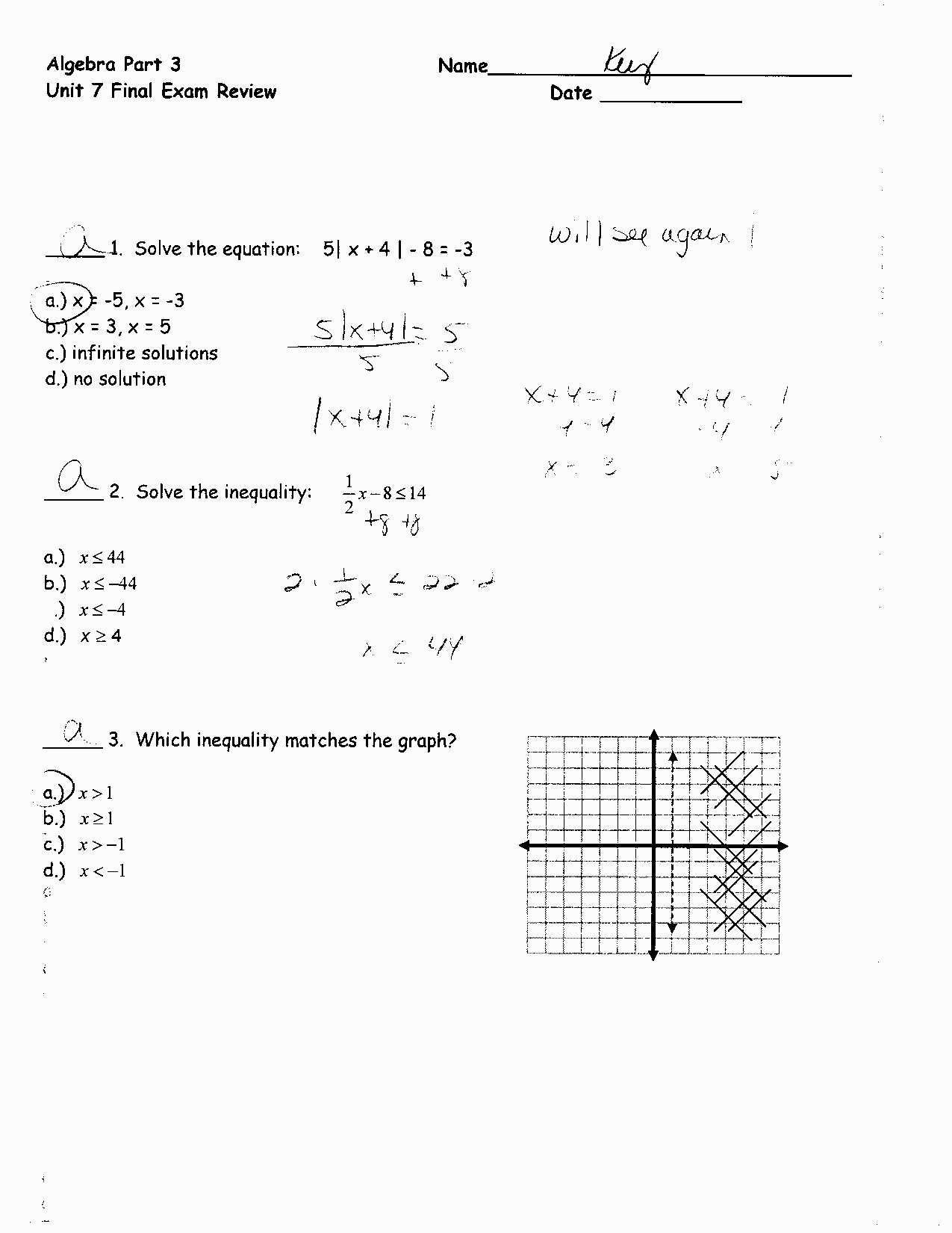 Systems Of Equations Elimination Worksheet solving Systems Equations Review Worksheet Tessshebaylo