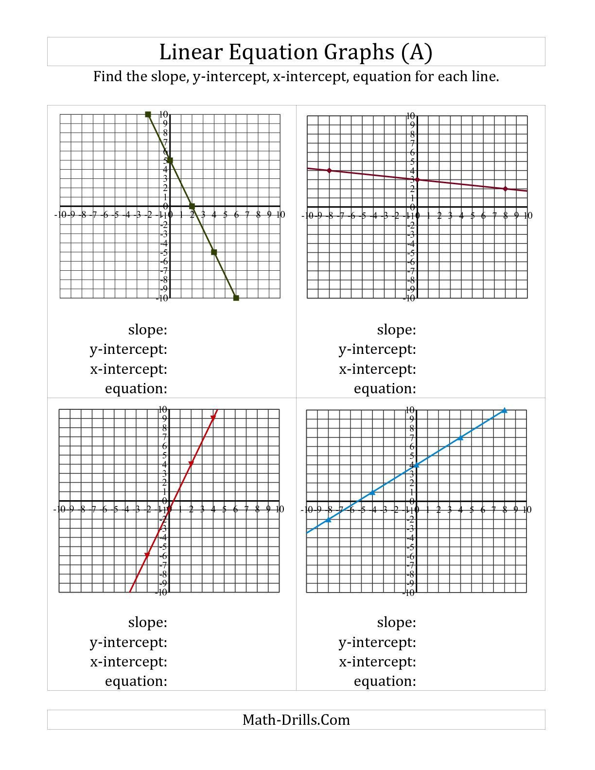 Systems Of Equations Graphing Worksheet Worksheets Splendi Graphingnear Equations Worksheet Image