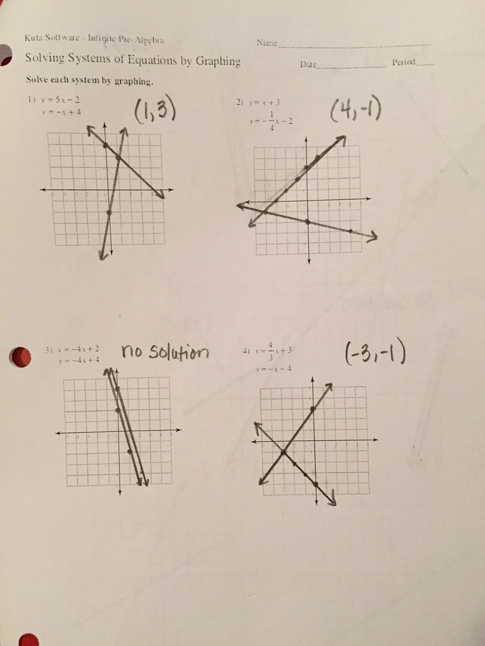 Systems Of Equations Graphing Worksheet Worksheets Worksheets solving System Equations