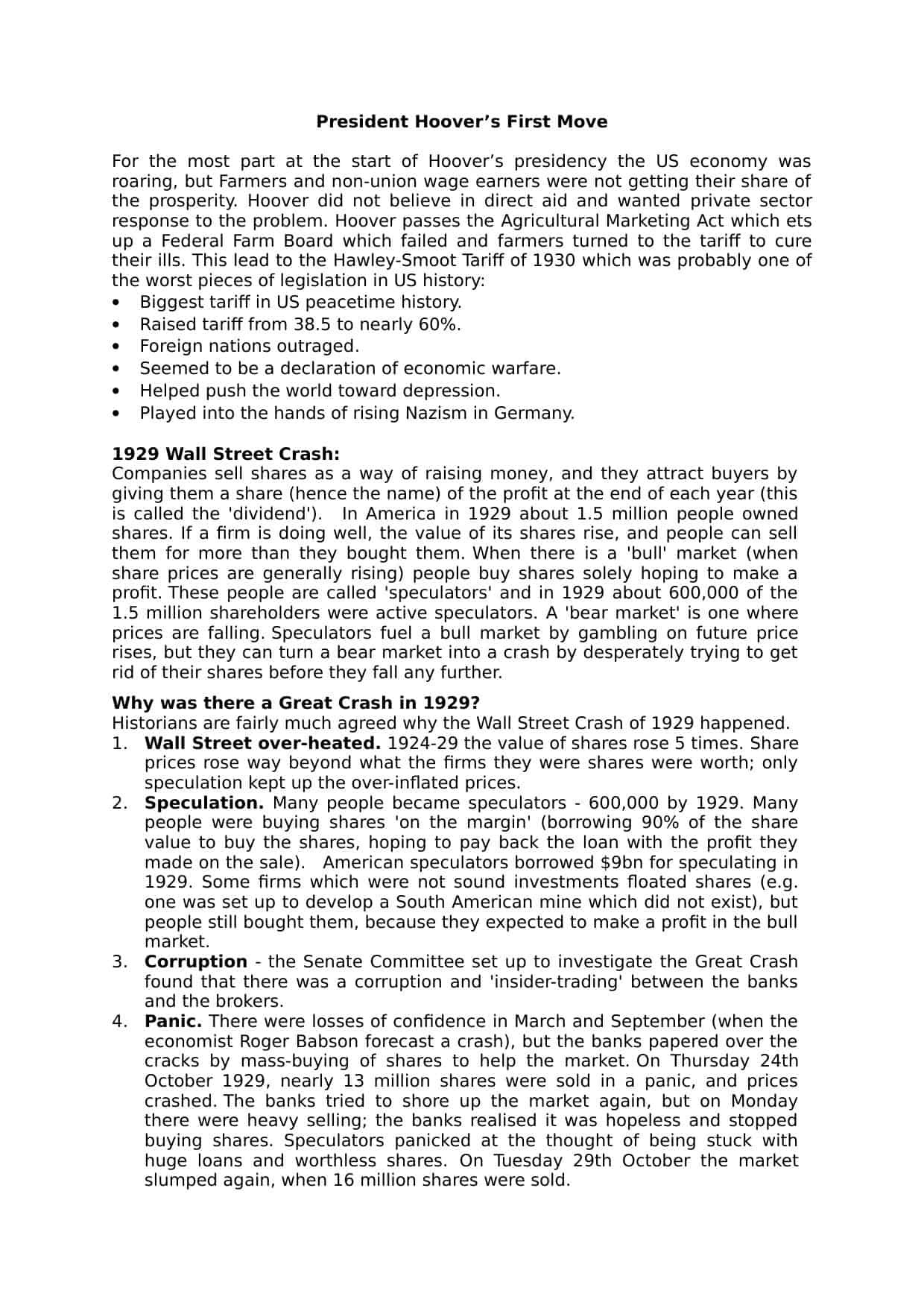 The Great Depression Worksheet Great Depression and the New Deal Worksheet