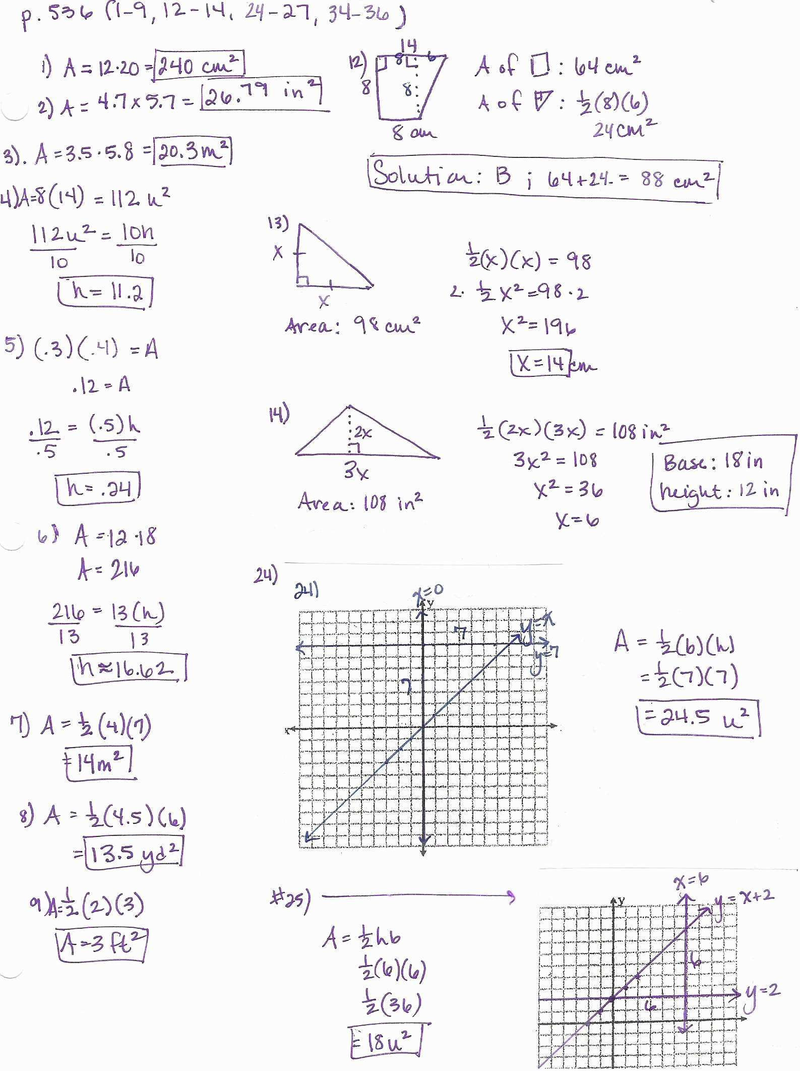 Triangle Angle Sum Worksheet Answers Sum Angle Measures Worksheet