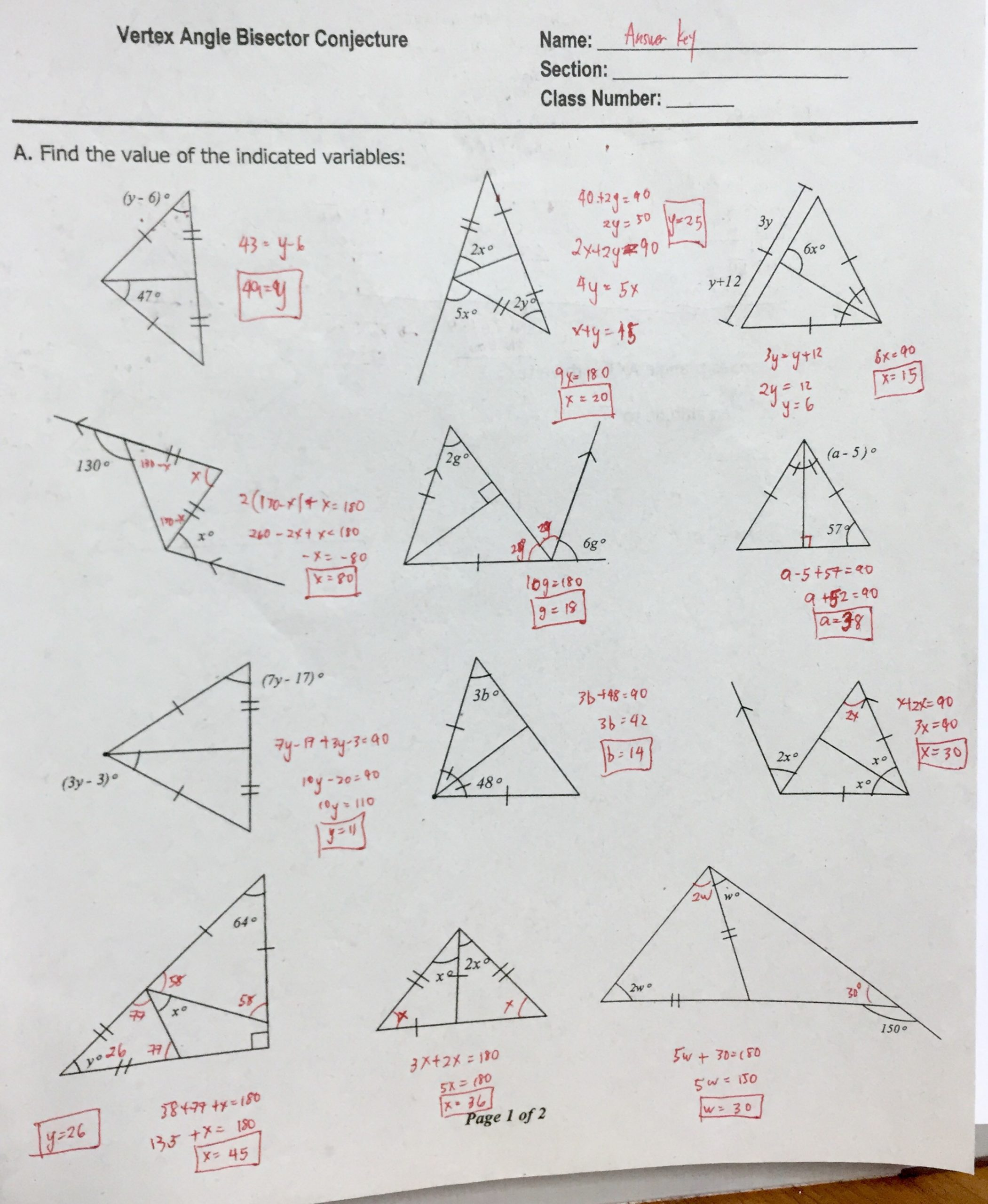 Triangle Angle Sum Worksheet Grade 11 Regular – ateneo High School Mathematics