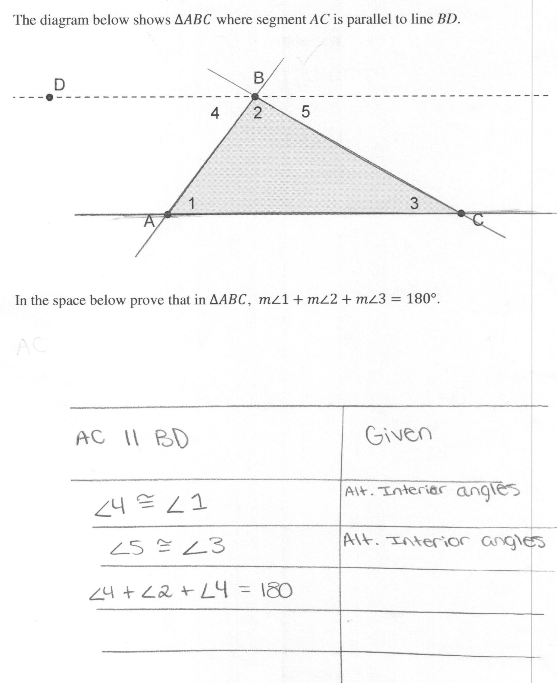 Triangle Angle Sum Worksheet Worksheet Triangle Sum and Exterior Angle theorem