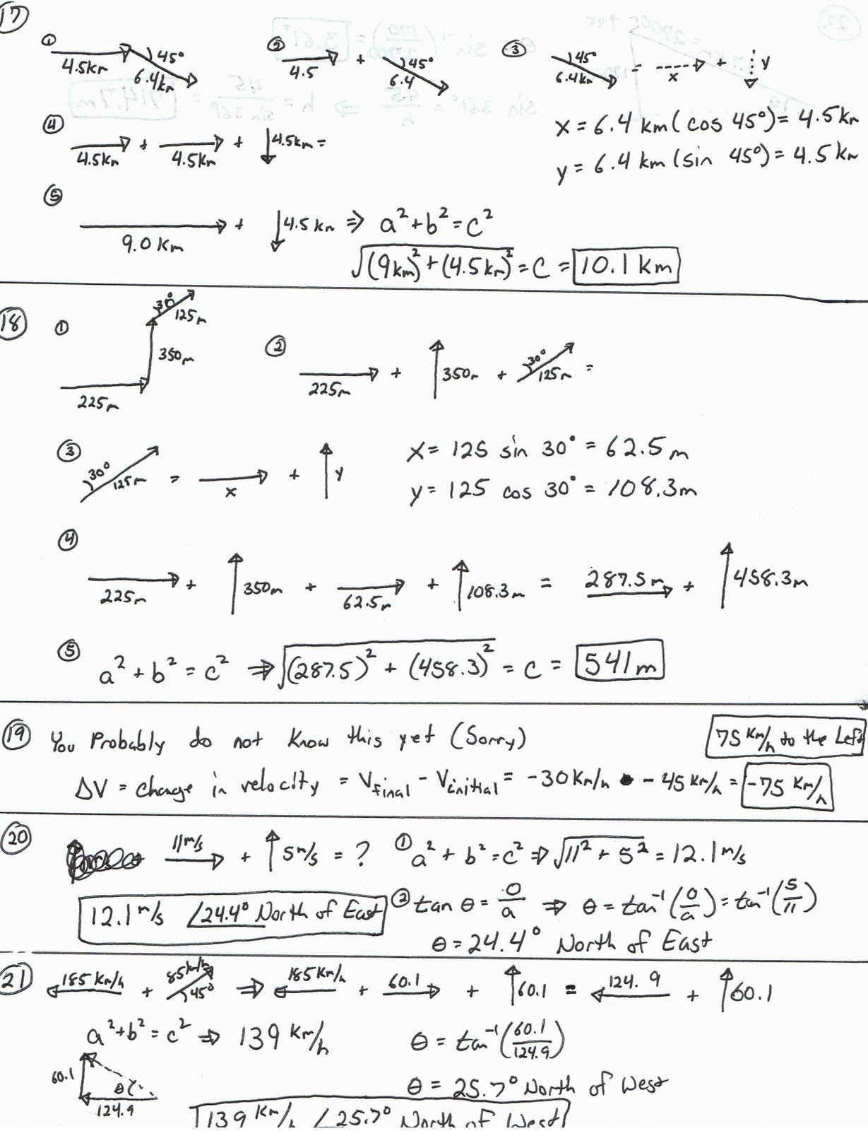 Vector Worksheet Physics Answers What Did We Learn In Physics Vector Worksheet Answers