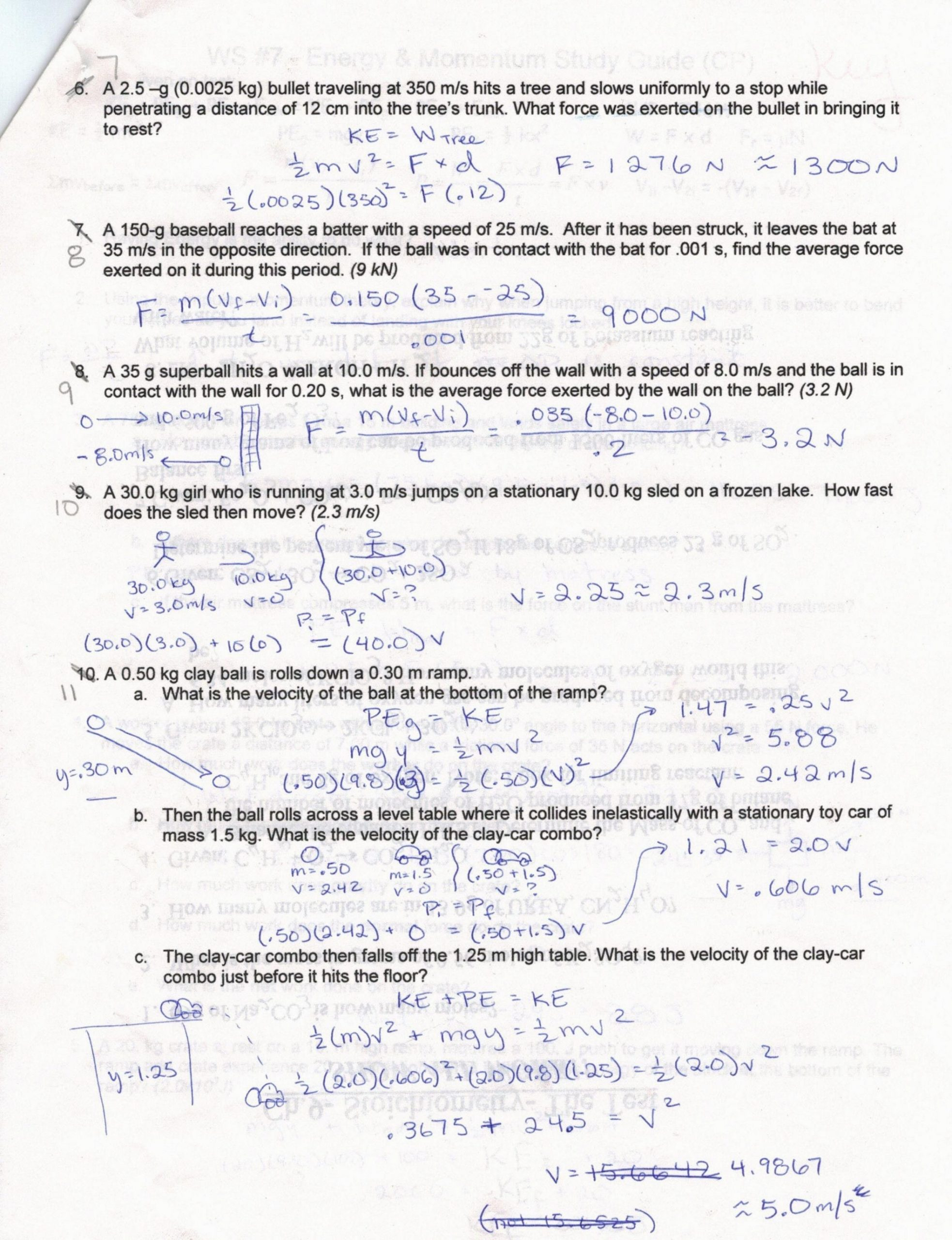 Velocity Worksheet with Answers Determining Speed and Velocity Worksheet