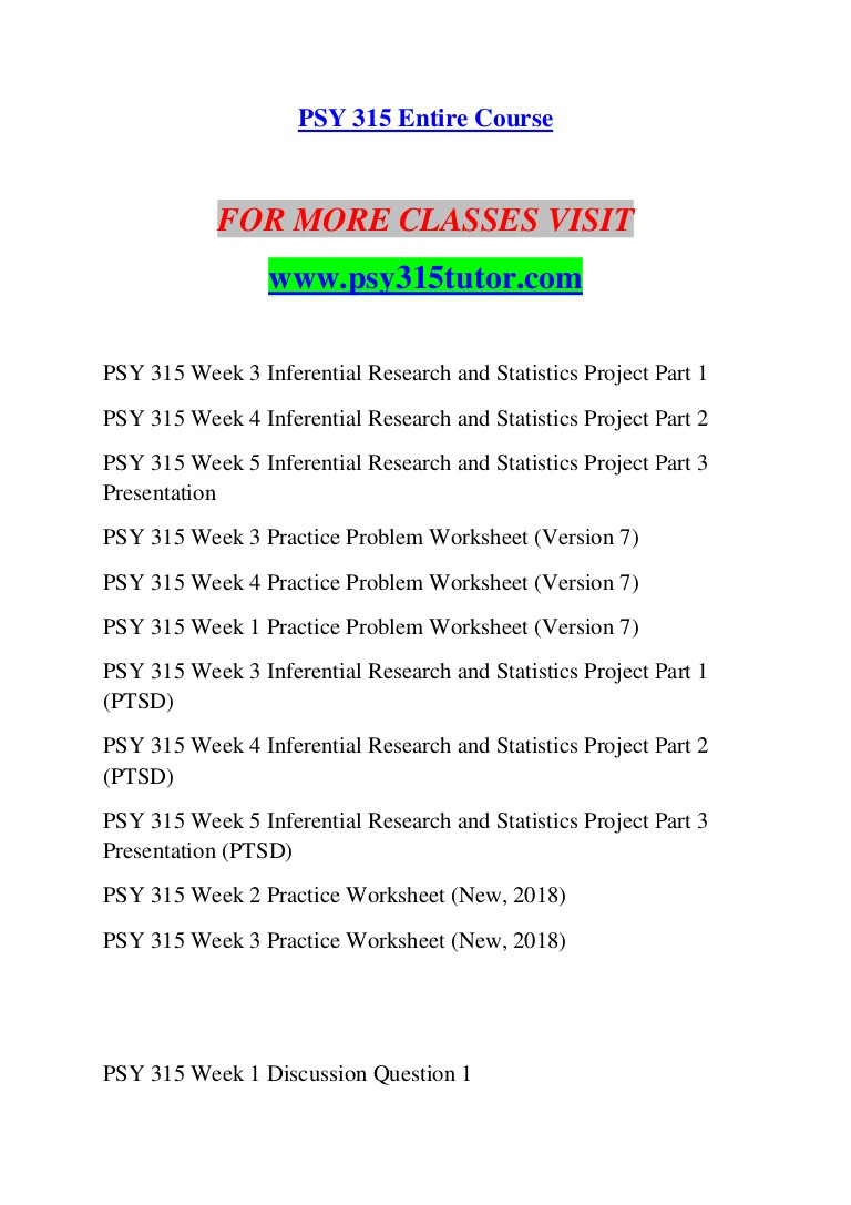 Writing A Hypothesis Worksheet Psy 315 Tutor Education Counseling Psy315tutor