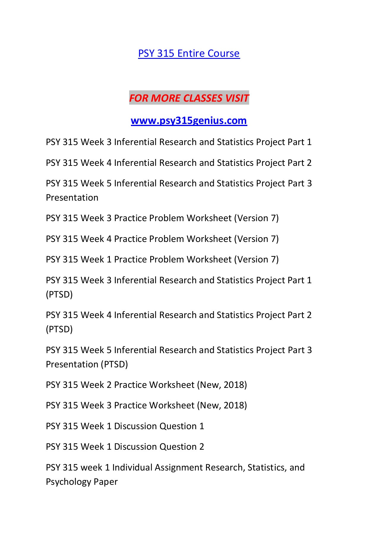 Z Score Practice Worksheet Psy 315 Genius Knowledge Specialist Psy315genius Pages